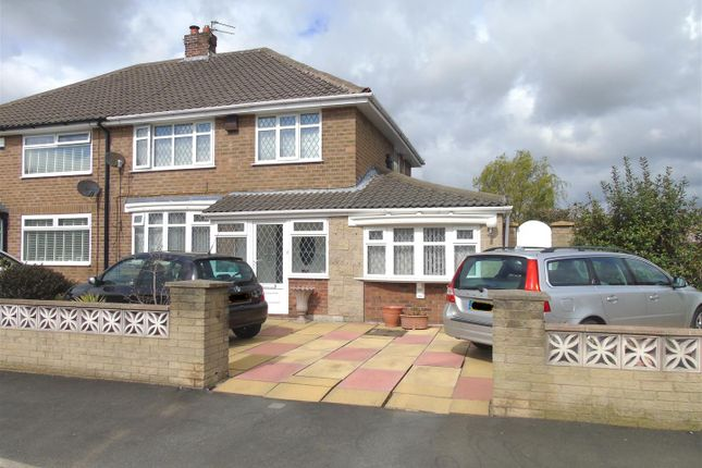 Thumbnail Semi-detached house for sale in Taunton Drive, Aintree Village, Liverpool