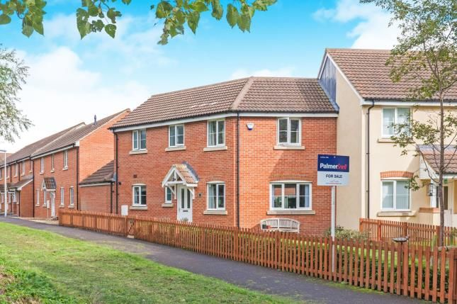 Thumbnail Semi-detached house for sale in West Wick, Somerset, .
