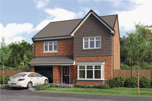 "Thumbnail Detached house for sale in ""Chadwick"" at Croston Road, Farington Moss, Leyland"