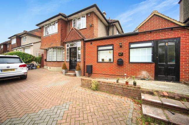 Thumbnail Detached house for sale in Gravel Hill, Croydon, Surrey