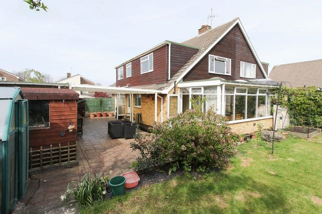 Thumbnail Semi-detached house for sale in Rippleside Road, Clevedon