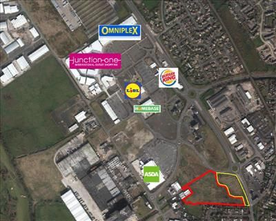 Thumbnail Land for sale in Ballymena Road, Junction One, Antrim, County Antrim