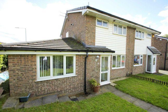 Thumbnail Semi-detached house for sale in Corston Grove, Blackrod, Bolton