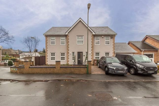 Thumbnail Detached house for sale in Herons View, Pengam, Blackwood
