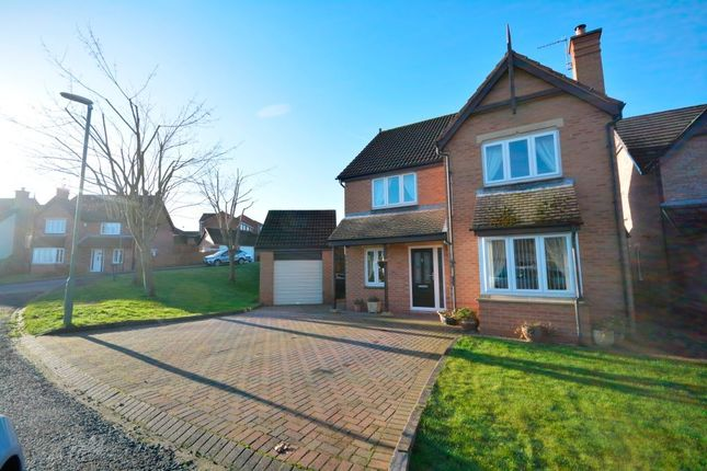 Thumbnail Detached house for sale in Clydesdale Garth, Pity Me, Durham