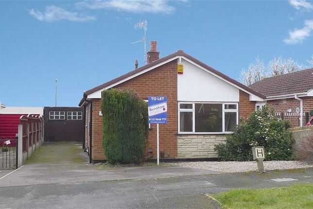 Thumbnail Detached bungalow to rent in Grenville Drive, Ilkeston, Derbyshire