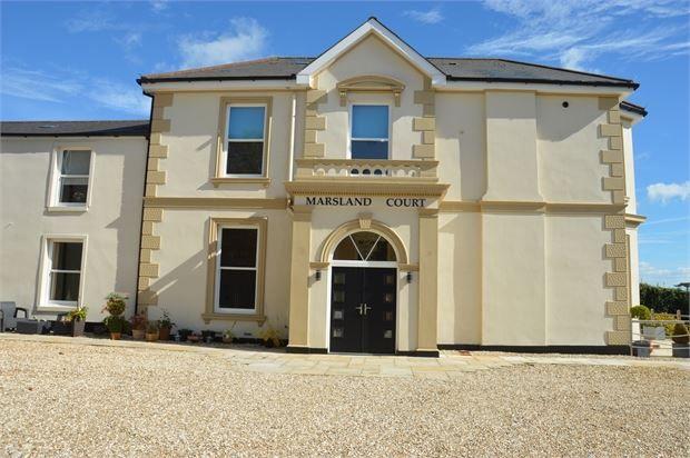 Thumbnail Flat for sale in Marsland Court, Dawlish Road, Teignmouth, Devon.