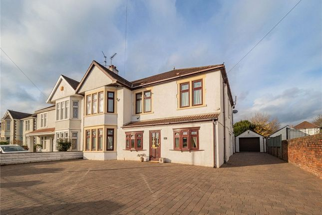 Thumbnail Semi-detached house for sale in Pencisely Road, Llandaff, Cardiff