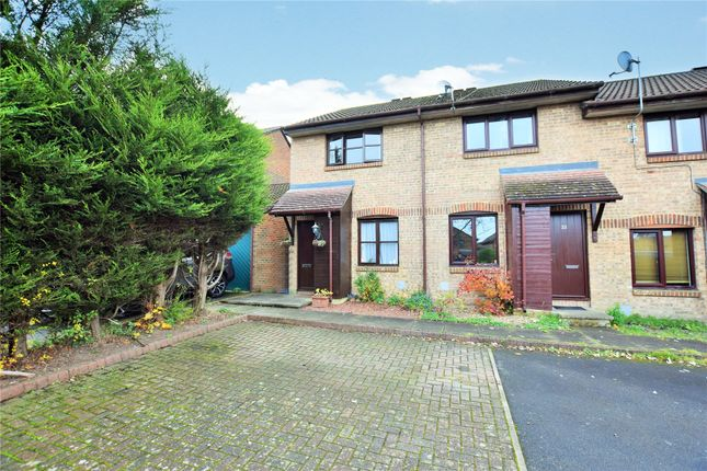 Thumbnail End terrace house to rent in Fordwells Drive, The Warren, Bracknell, Berkshire