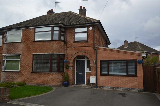3 bed semi-detached house for sale in Oakcroft Avenue, Kirby Muxloe, Leicester