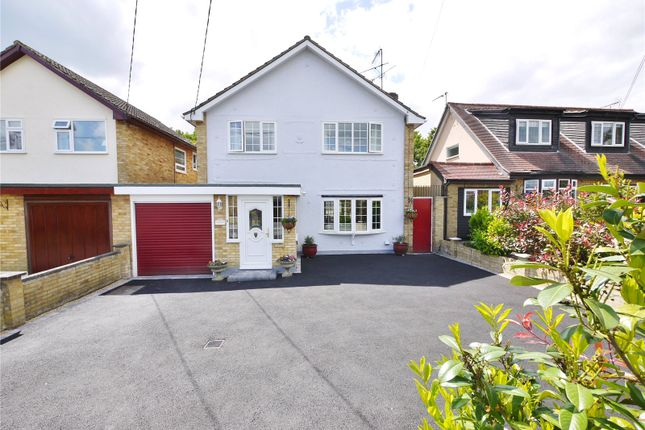 Thumbnail Link-detached house for sale in Doddinghurst Road, Doddinghurst, Brentwood, Essex