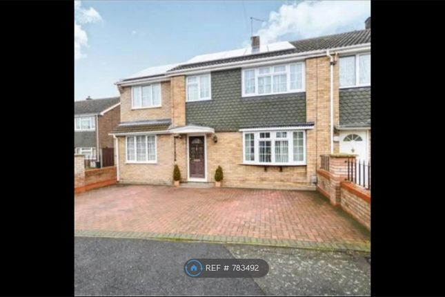 Thumbnail End terrace house to rent in Cherwell Road, Bedford