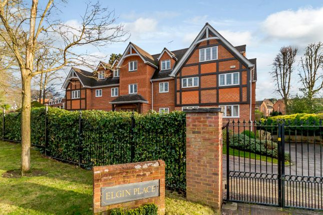Thumbnail Flat for sale in Elgin Place, St. Georges Avenue, Weybridge