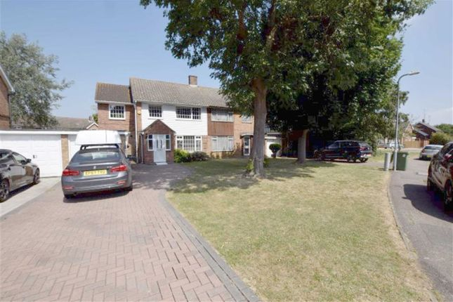 Thumbnail Semi-detached house for sale in Ravensdale, Basildon, Essex