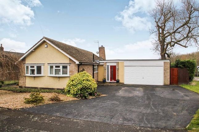 Thumbnail Bungalow for sale in Waterfield Road, Cropston, Leicester