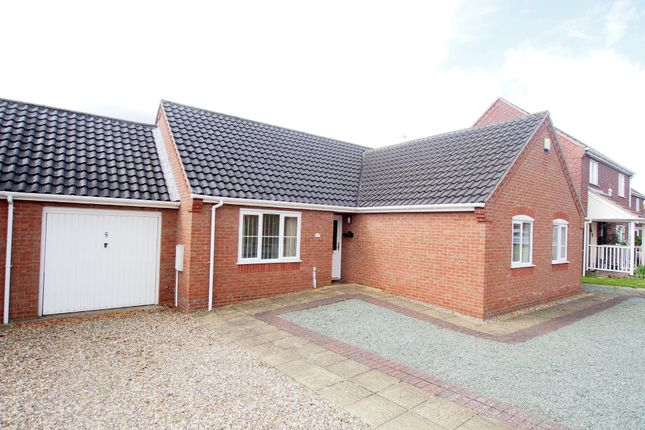 Thumbnail Detached bungalow for sale in Yareview Close, Reedham, Norwich