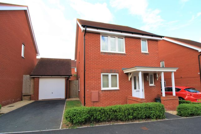 Thumbnail Detached house to rent in St. Michaels Way, Cranbrook, Exeter