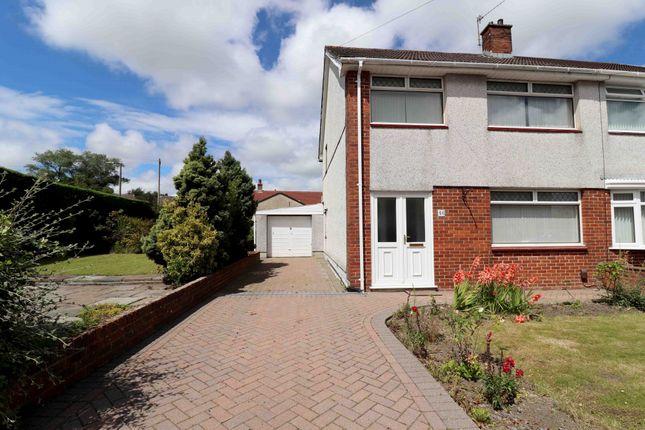 Thumbnail Semi-detached house for sale in Dyffryn Road, Gorseinon, Swansea, Abertawe