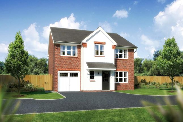 "Thumbnail Detached house for sale in ""Heddon"" at Close Lane, Alsager, Stoke-On-Trent"