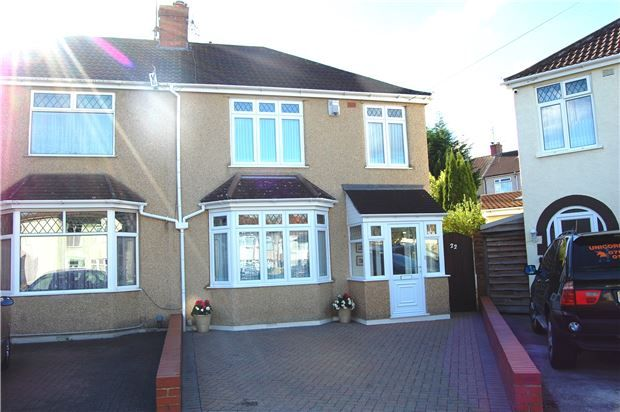 Thumbnail Semi-detached house for sale in Edna Avenue, Bristol