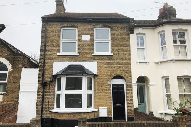 Thumbnail End terrace house to rent in Newcomen Road, London