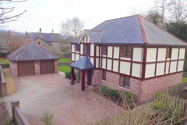 Thumbnail Detached house for sale in 2, Park Lane, Welshpool, Powys
