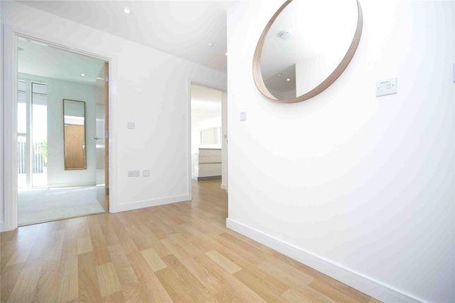 Hallway of Residence Tower, Woodberry Grove, London N4