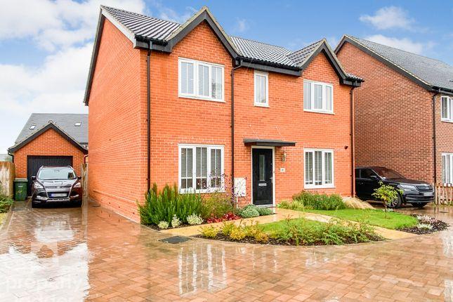 4 bed detached house for sale in Bartram Close, Hethersett, Norwich NR9