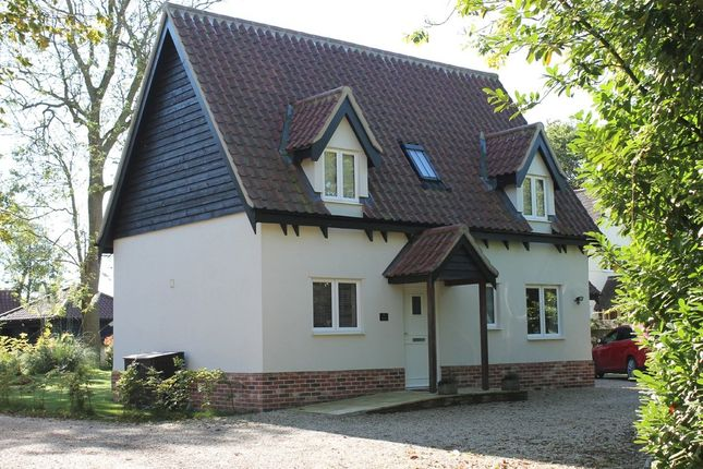 Thumbnail Detached house to rent in Hoxne, Eye, Suffolk