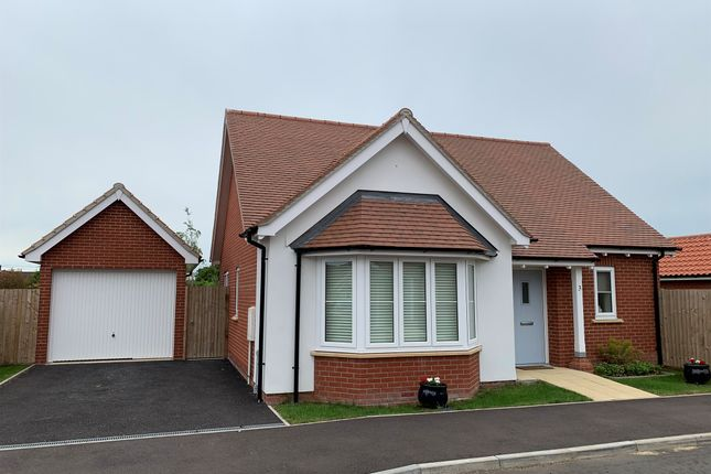 Thumbnail Detached bungalow for sale in Windmill Road, Bradfield, Manningtree