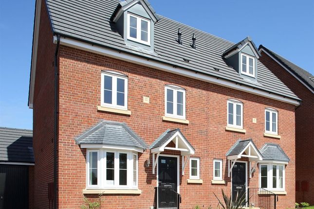 """Thumbnail Semi-detached house for sale in """"The Leicester"""" at Bransford Road, Worcester"""
