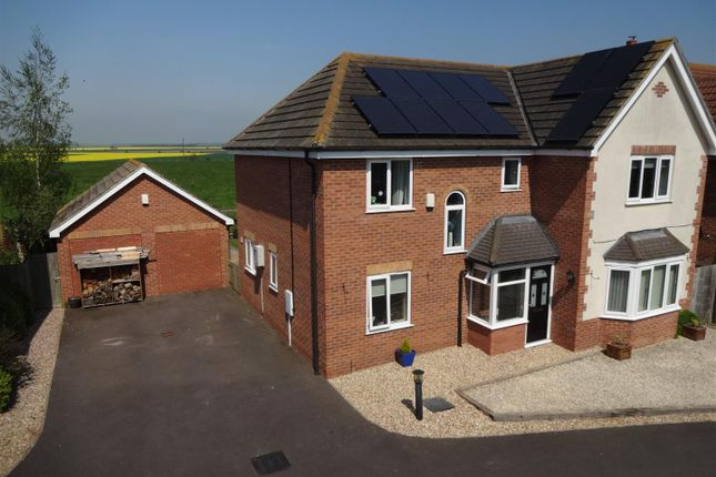 Thumbnail Detached house for sale in Willow Lane, Billinghay, Lincoln