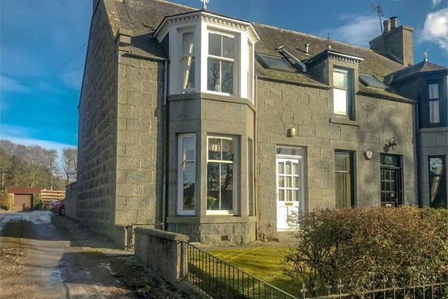 Thumbnail Semi-detached house for sale in Montgarrie, Alford, Aberdeenshire