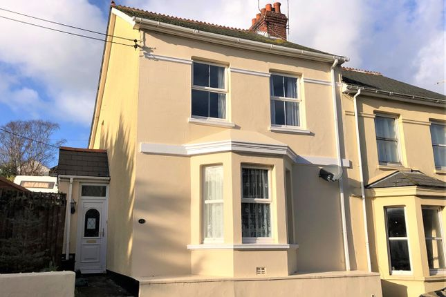 Thumbnail Semi-detached house for sale in Molesworth Terrace, Millbrook, Torpoint