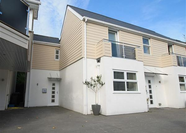 Thumbnail End terrace house to rent in North Lodge Road, Parkstone, Poole