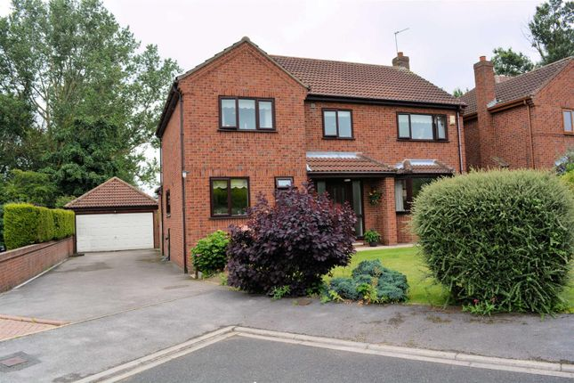 Thumbnail Detached house for sale in Meadway Crescent, Leeds Road, Selby