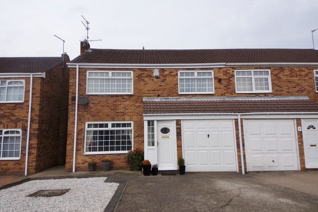 Thumbnail Semi-detached house for sale in Glebe Mews, Bedlington