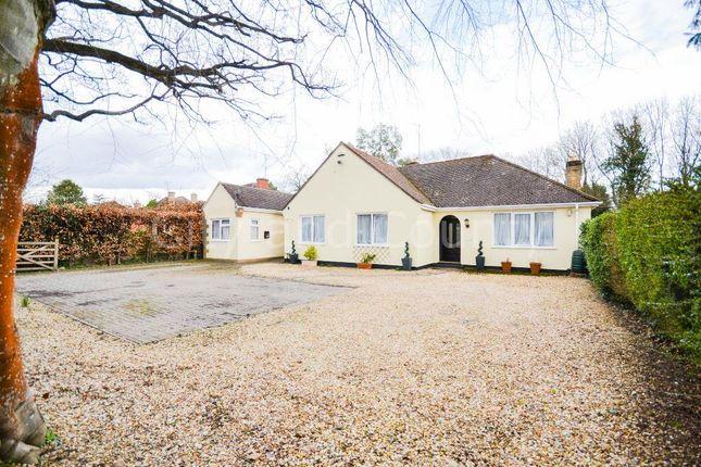 Thumbnail Detached bungalow for sale in Moggswell Lane, Orton Longueville, Peterborough