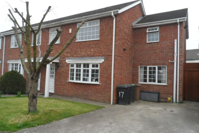 Thumbnail Semi-detached house to rent in Somerville Court, Lincoln