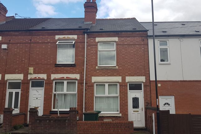 Thumbnail Terraced house for sale in Terry Road, Lower Stoke, Coventry