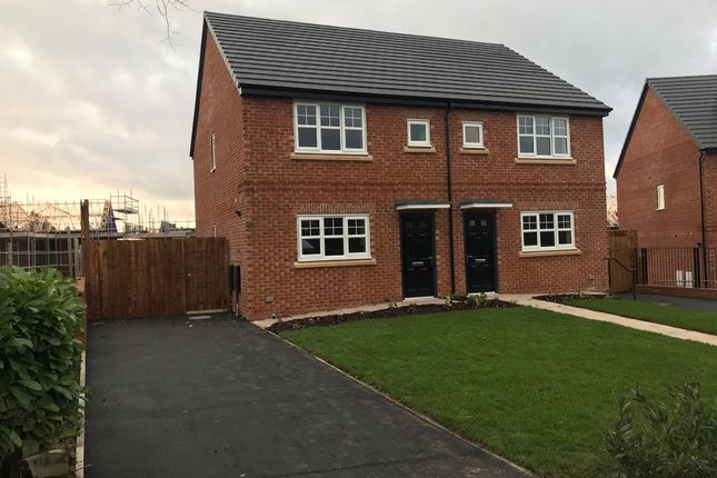Thumbnail Semi-detached house to rent in Burnside Crescent, Middleton, Manchester