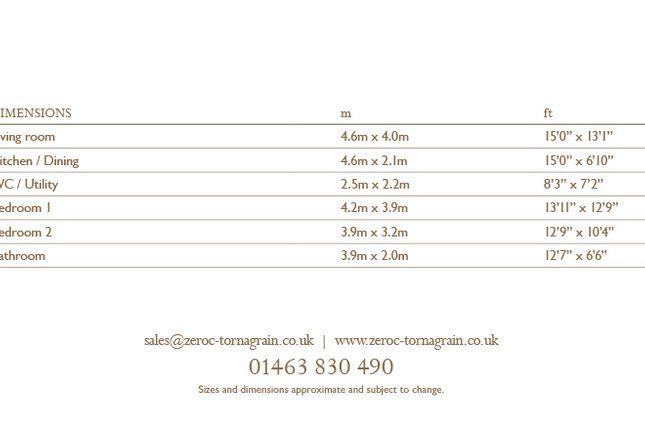 2 bedroom duplex for sale in Douglas Court, Tornagrain, Inverness