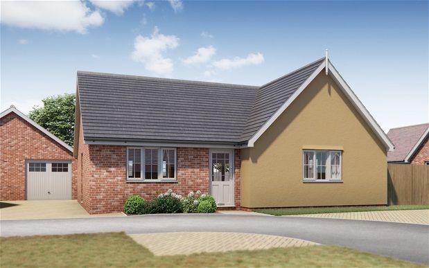 Thumbnail Detached bungalow for sale in Springfield Meadows, Little Clacton, Clacton On Sea