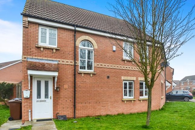 Thumbnail Semi-detached house to rent in Callow Hill Drive, Castle Grange, Hull