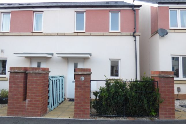Thumbnail End terrace house to rent in Tillhouse Road, Cranbrook, Exeter