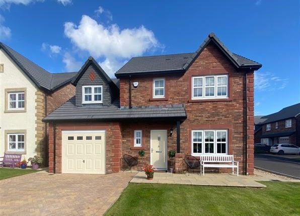 Thumbnail Detached house for sale in St. Benedicts Way, Wetheral, Carlisle, Cumbria