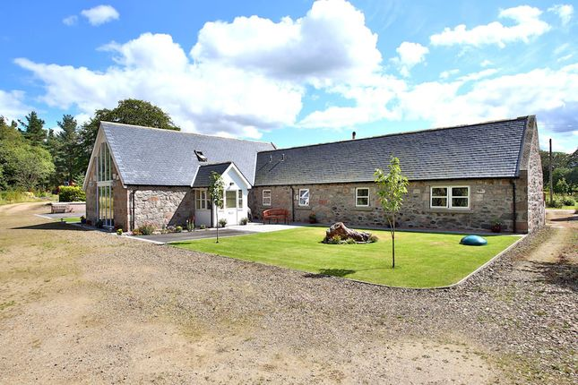 Thumbnail Detached house to rent in Bankhead Steading, Keig, Alford