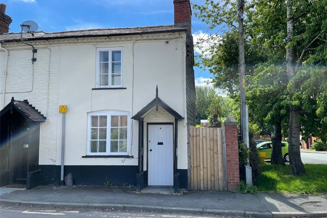 Thumbnail End terrace house for sale in Lower Canal Road, Newtown, Powys
