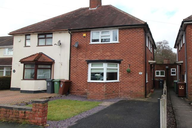 Thumbnail Semi-detached house for sale in Albion Road, Brownhills, Walsall