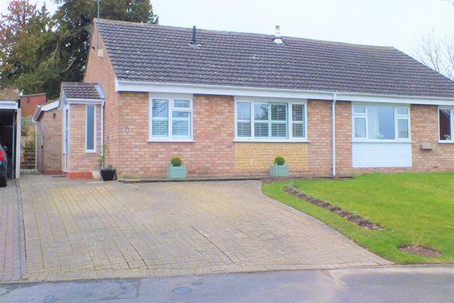 Thumbnail Semi-detached bungalow for sale in Hawthorn Crescent, Bewdley